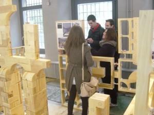 La Casa de la Moneda a Segovia ospita un acquedotto e un labirinto in  legno 3