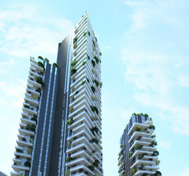 Solaria e aria le torri di porta nuova for Software di piano terra residenziale