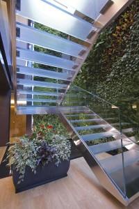 Al palazzo Reale Mutua a Torino, giardino verticale Sundar Italia 3