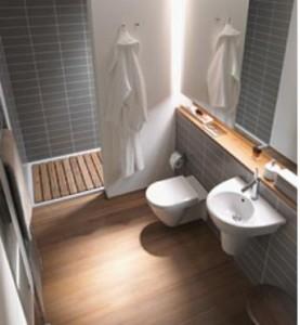 Anche il bagno degli ospiti può diventare un accogliente luogo di benessere.