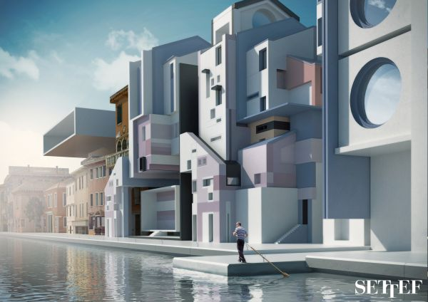Collezione colori in facciata Urbancromie di Settef - Naviglio