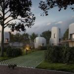 Primo progetto al mondo di case stampate in calcestruzzo-3D abitate