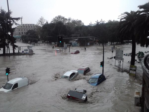 Genova, alluvione 4 novembre 2010