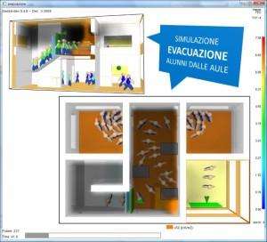 EVAC – Simulazione evacuazione scuola