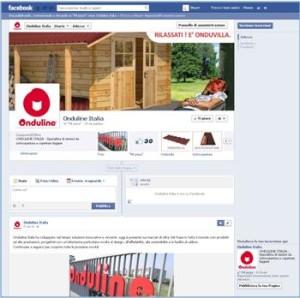 La pagina facebook di Onduline