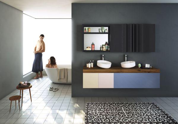 Lago bathroom la nuova partnership tra lea ceramiche e lago for Lago mobili bagno