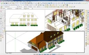 Esempio sviluppo tridimensionale di abitazione