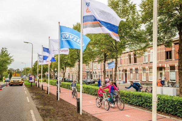 La prima pista ciclabile realizzata in plastica riciclata inaugurata a Zwolle