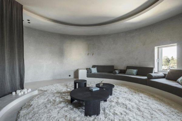 Ad Anversa un progetto di riconversione di vecchi silos in un appartamento di lusso
