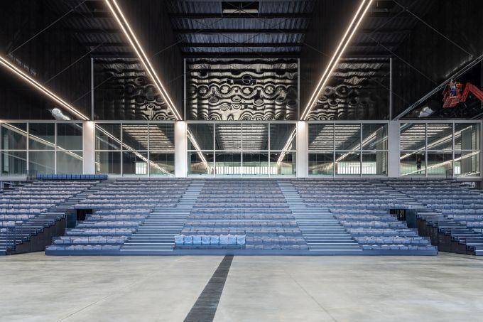 Sala convegni interna del Meett di Tolosa