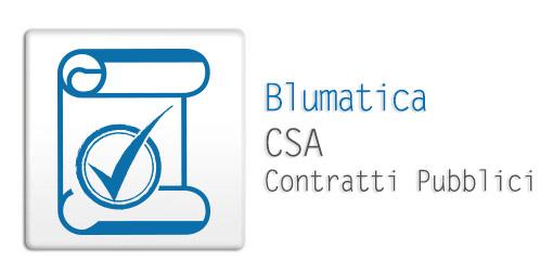 Blumatica CSA - Contratti Pubblici