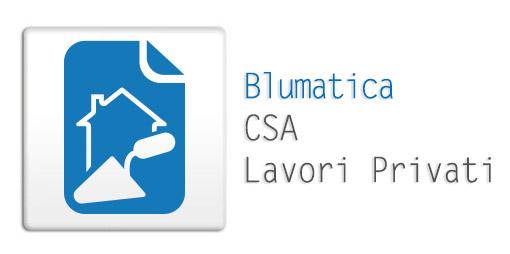 Blumatica CSA per lavori privati