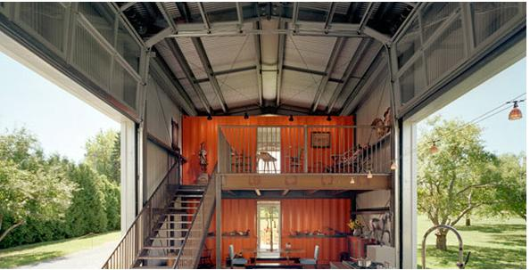 12 Container House, USA © Adam Kalkin