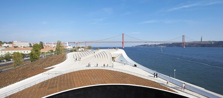 Maat museo di arte architettura e tecnologia - Superficie calpestabile ...