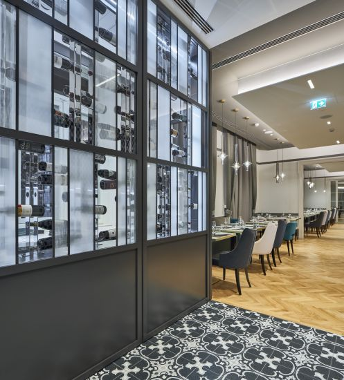 Il ristorante dell'Hotel Double Tree by Hilton