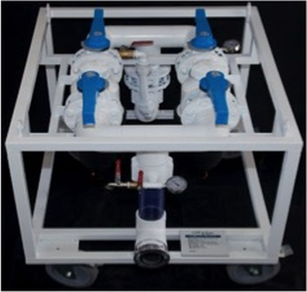 L'apparecchiatura LB Retriever per il recupero del sigillante (foto, Pipecare)
