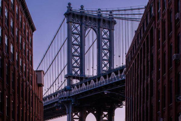 Il ponte Manhattan Bridge