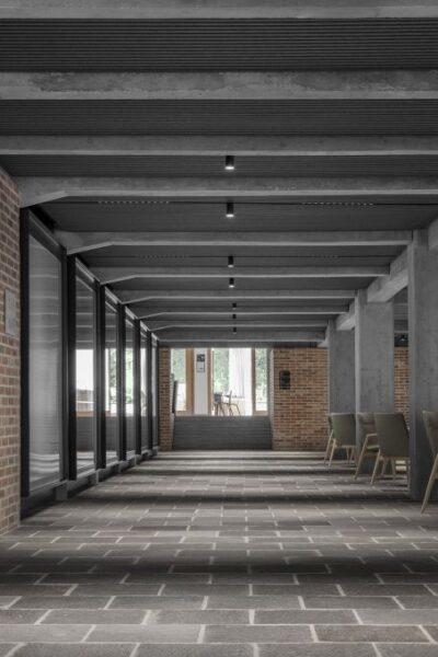 Il nuovo asse nord-sud della Haupthaus