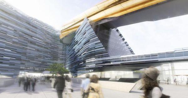 Sesto edificio Eni, il ruolo delle facciate