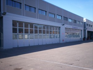 PORTONE AD IMPACCO LATERALE GLASS DOOR I