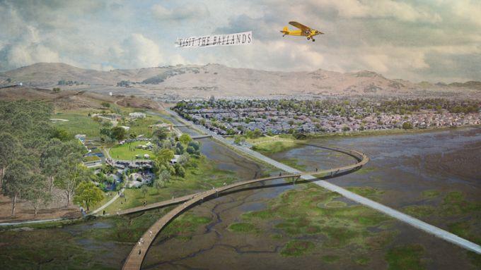 The Grand Bayway, il progetto da TLS Landscape Architecture per la baia di San Pablo