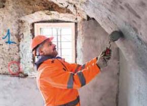 Impermeabilizzazione delle murature contro-terra con PLANITOP HDM MAXI e MAPELASTIC FOUNDATION