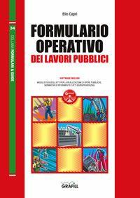 Formulario operativo dei lavori pubblici