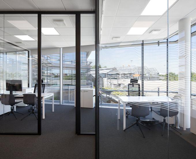 Interno uffici quartier generale di Sandvik Italia a Milano