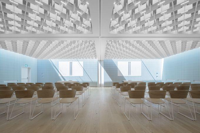 La nuova sala conferenze dell'Haupthaus