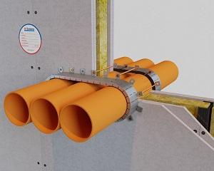 AF MULTICOLLAR: collare antifuoco per tubazioni combustibili