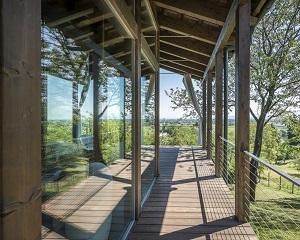Rubner Haus in totale connessione con la natura