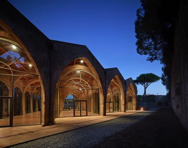 Arsenale Repubblicano che ospita la Biennale di Pisa