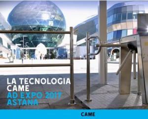 Came accoglie 5 milioni di visitatori all'EXPO Astana, fino al 10 settembre 2017
