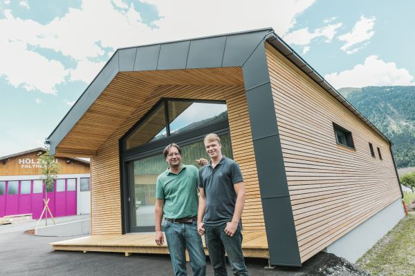 Nuovo edificio per uffici della Faltheiner in Austria, progettato dall'azienda stessa