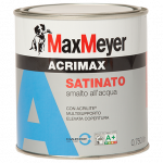 ACRIMAX SATINATO – SMALTO ACRILICO ALL'ACQUA