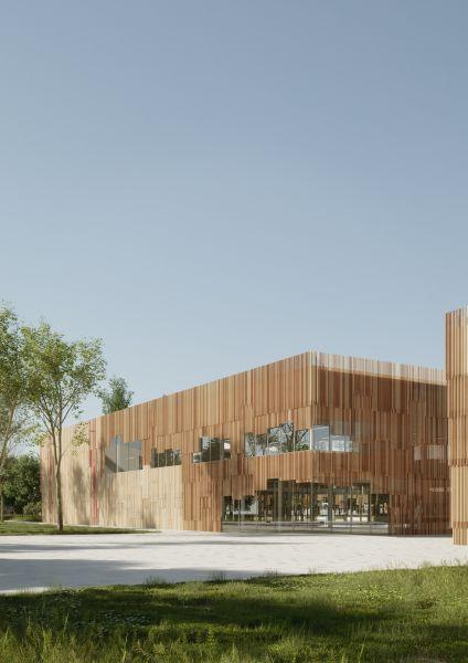Alfonso Femia, progetto Complesso scolastico di Legnano (Verona)