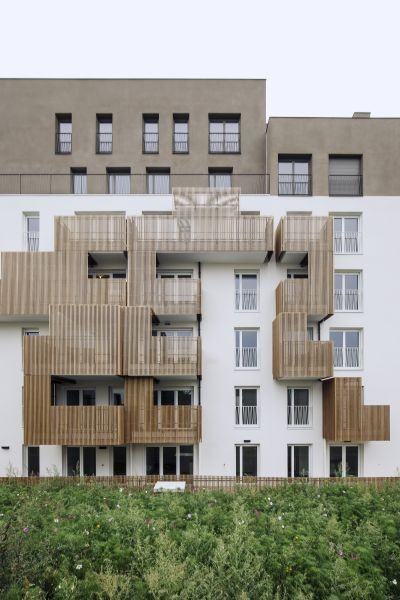 Alfonso Femia Residenze Romainville, 93230 Paris
