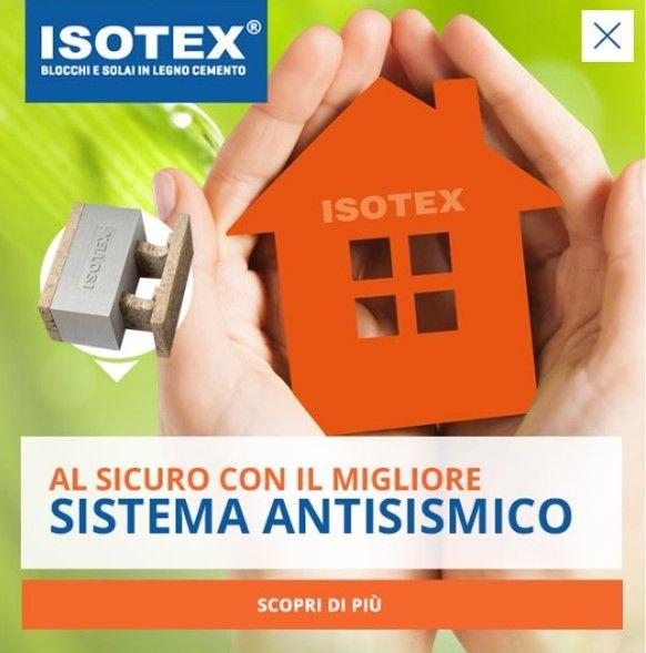 Isotex realizza blocchi e solai in legno cemento