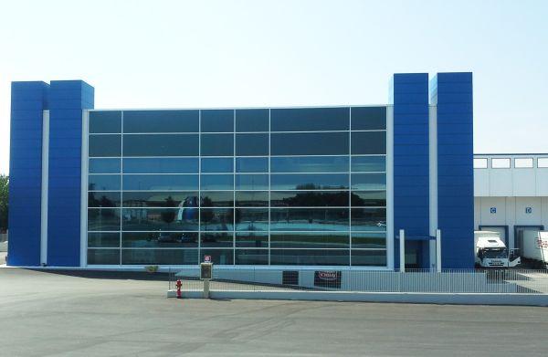 Nuovo reparto logistico presso lo stabilimento di Amica chips in provincia di Mantova