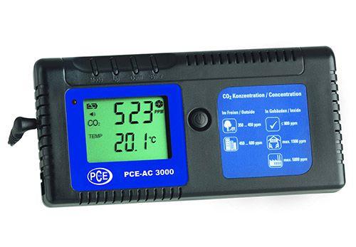 Sensore PCE Italia per rilevare la presenza e la concentrazione di anidride carbonica