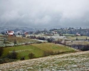 Paesaggio di Brežani
