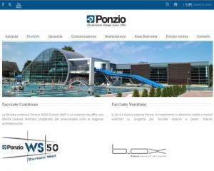 ponzioaluminium.com, novità in casa Ponzio