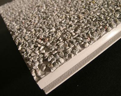 Profilo in PVC con rivestimento in pietre