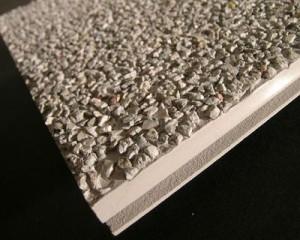 Profilo in PVC con rivestimento in pietre 1