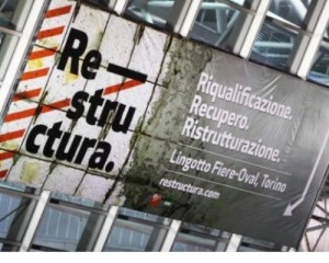 Riqualificazione, recupero e ristrutturazione a Restructura 2014 1