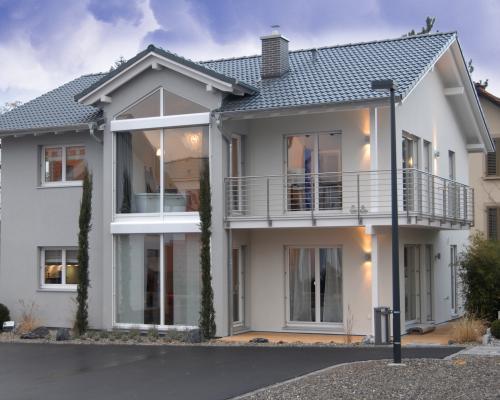 una casa costruita in relax con haas