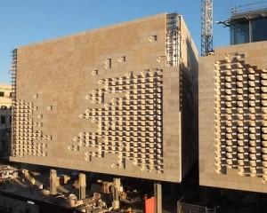 Facciata in pietra per il Nuovo Parlamento di Malta 1