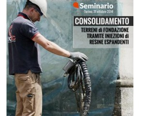 """Seminario """"Consolidamento dei terreni mediante iniezioni"""""""