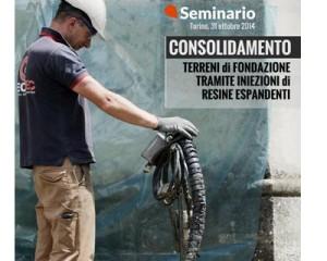 """Seminario """"Consolidamento dei terreni mediante iniezioni"""" 1"""