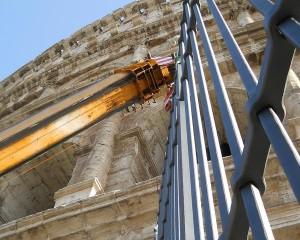 Cinque nuove cancellate per il Colosseo